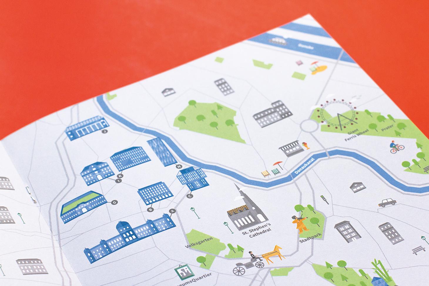 Design fuer einen Stadtplan