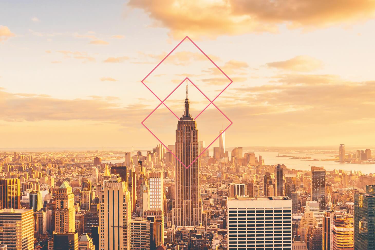 Otis Key Visual am Empire State Building