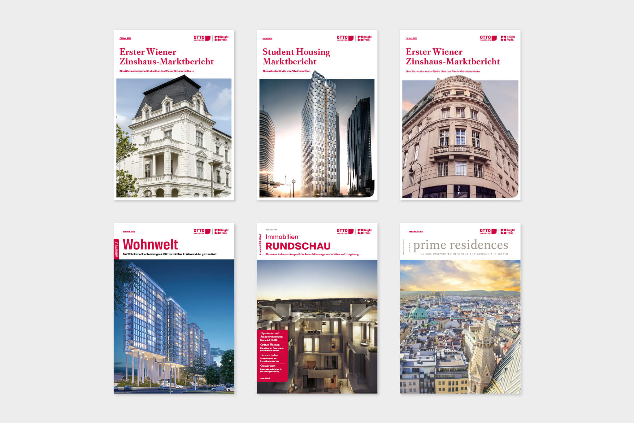 Otto Immobilien Editorial Design Cover System