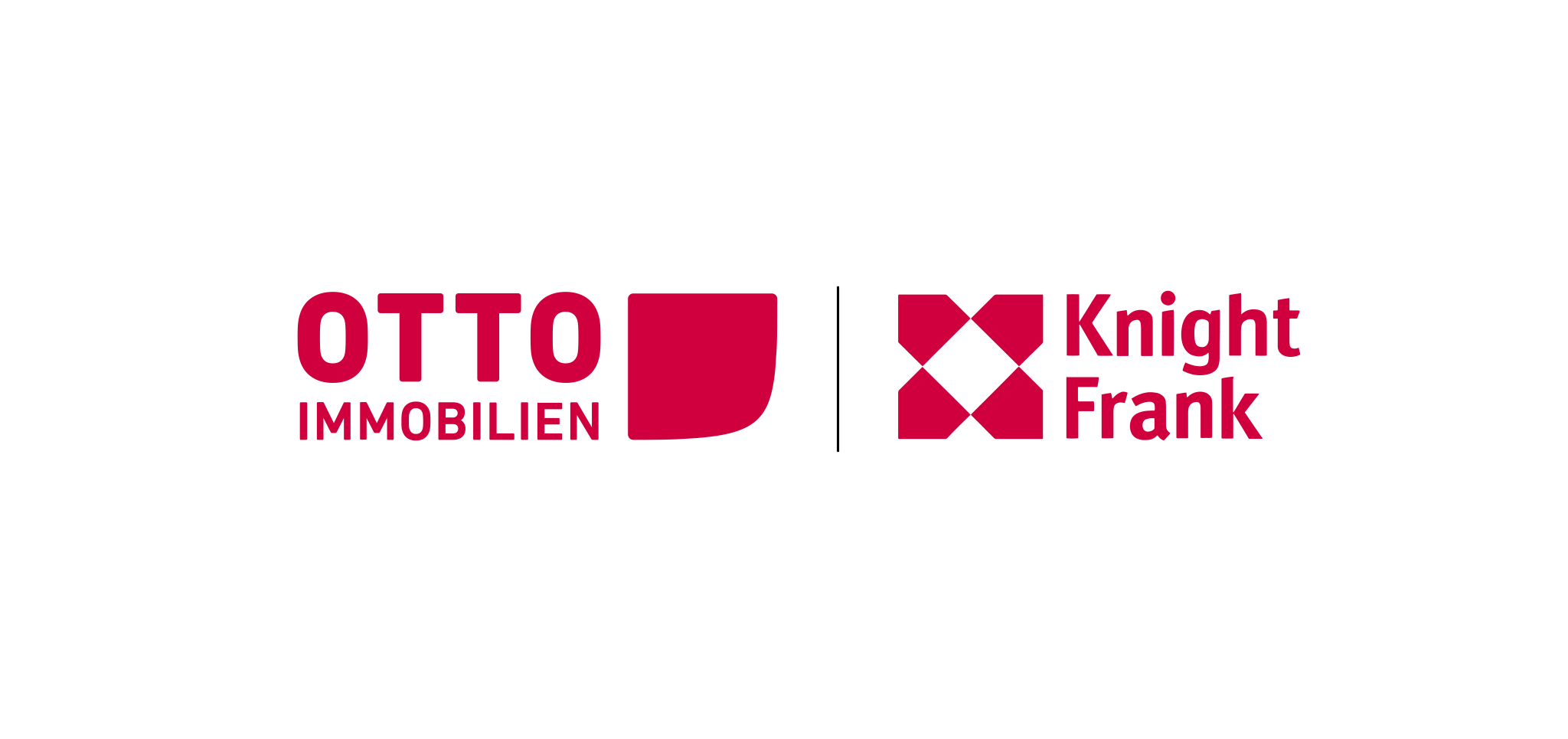 Otto Immobilien Logo mit Knight Frank