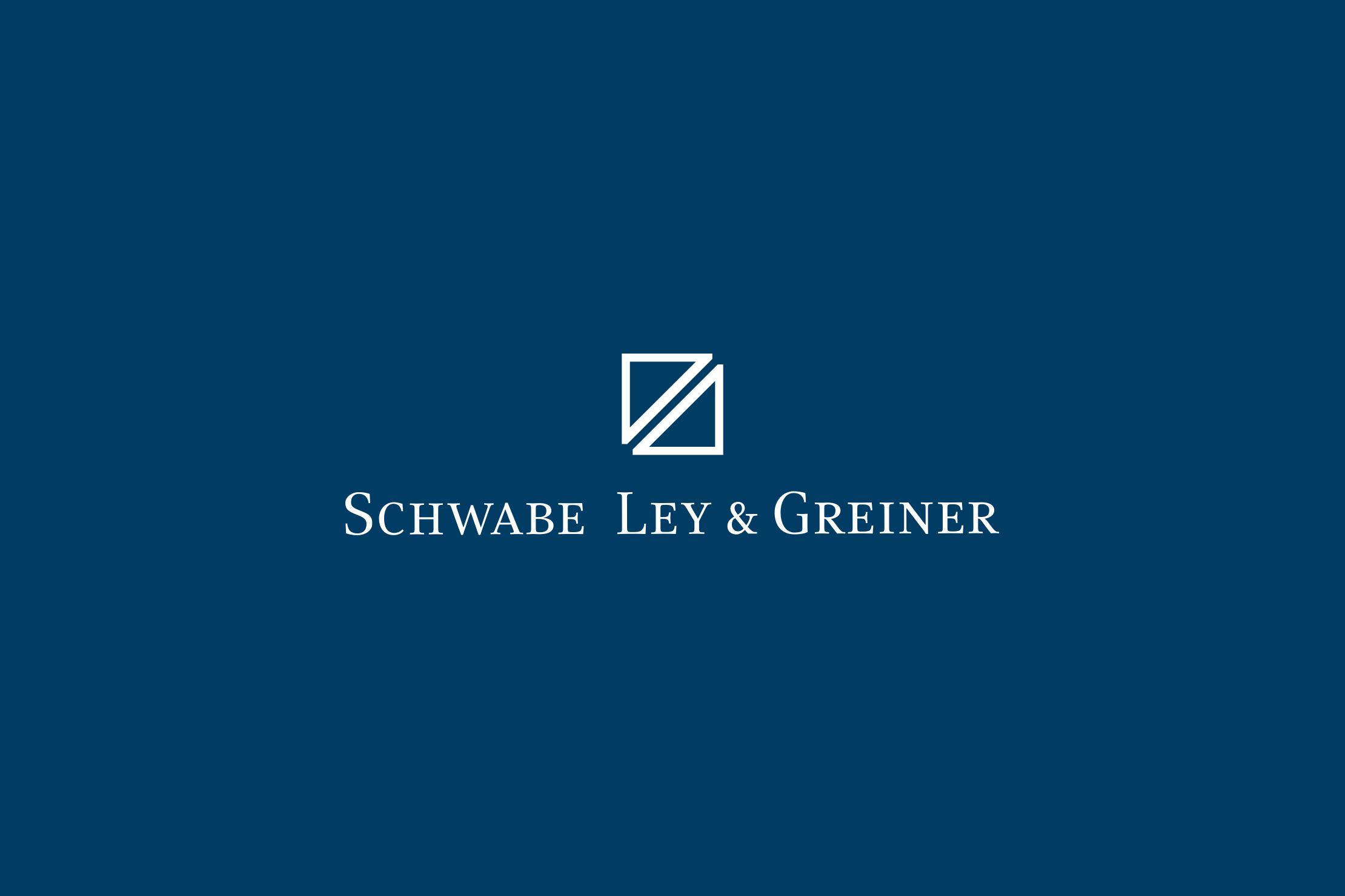 Schwabe, Ley und Greiner Logo Redesign