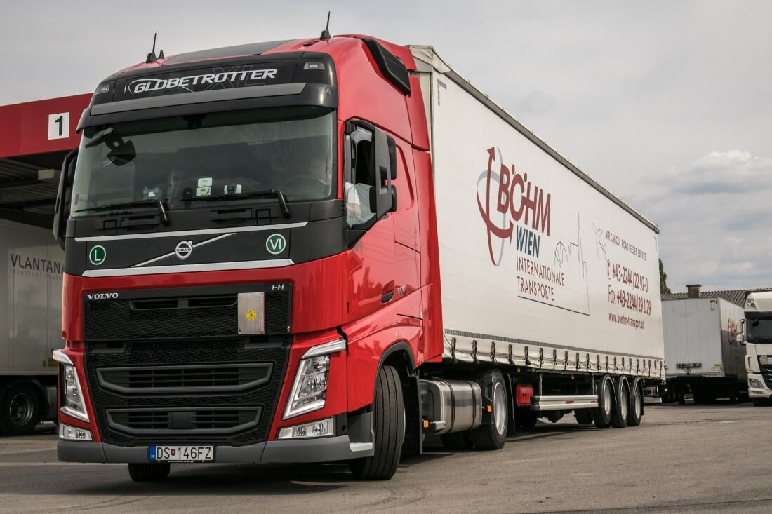 Transporte Böhm Lastwagen
