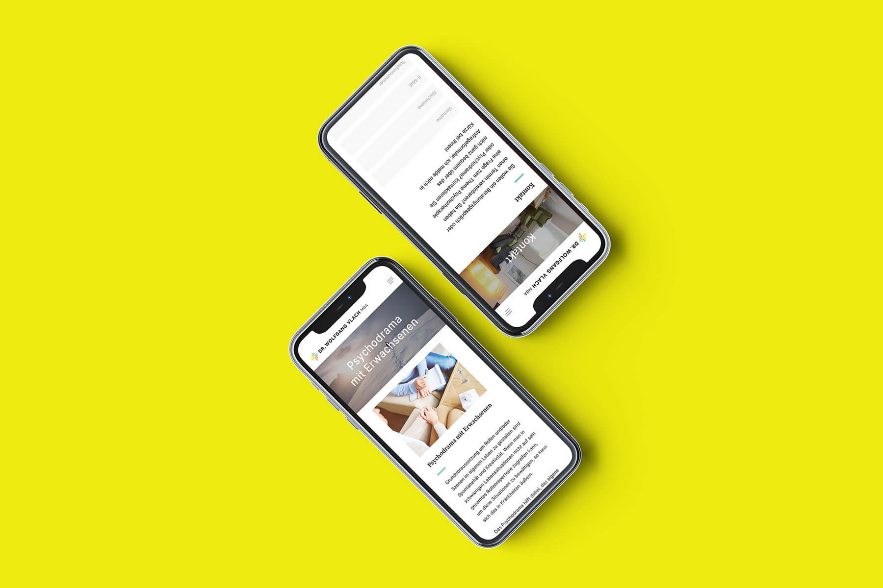 Dr. Vlach Website – iPhone