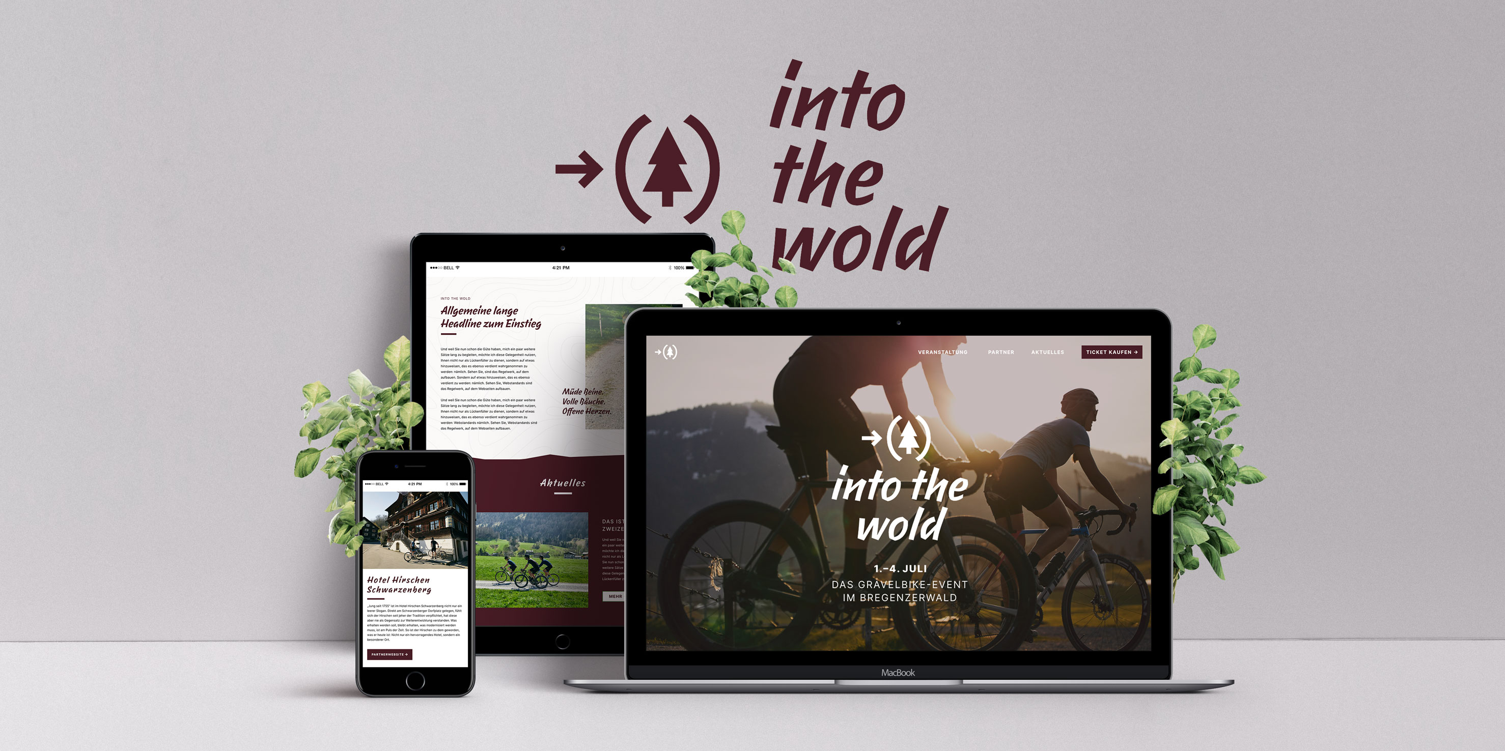 Webdesign Into The Wold